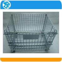 sundries strength collapsible wire mesh storage bin