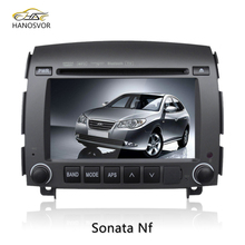 HANOSVOR Factory Directly Sale Digital Touch Screen Car Monitor DVD Player GPS Radio Tuner BT/USB/SD for Hyundai Sonata nf
