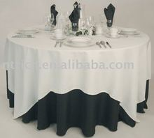 High quality polyester universal wedding table cloth