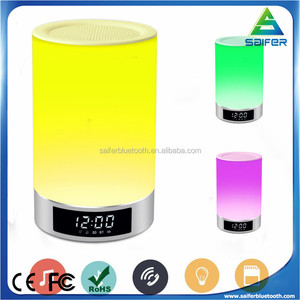 2017 wholesale l5 quran wireless music stereo colorful led lamp smart speaker for gifts