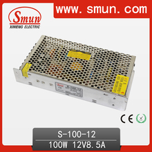100W 12V 8.5A AC-DC Power Supply For LED Lighting And LED Display