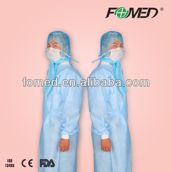 SMS surgical gown knitted cuff