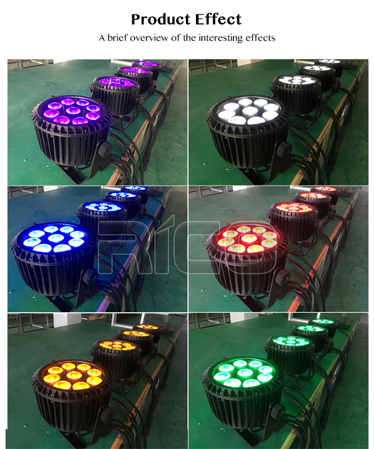 2019 perfect lighting RGBW 4in1 waterproof led par light par light 9x10w