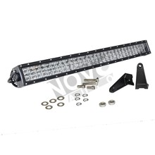 LED Spotlight Bar 30 inch 4 Row Projector Lights For Trucks