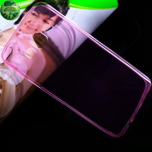 For Samsung A5 ultra slim transparent tpu case , transparent tpu mobile phone case