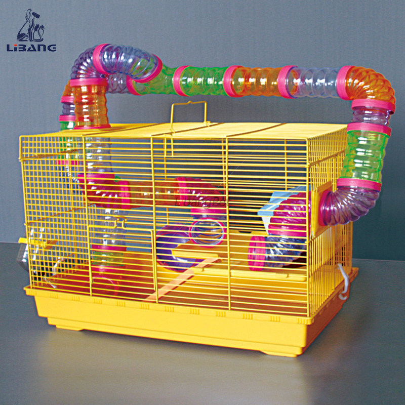 Hot Selling Plastic Tube Pipe Hamster Playground Large Hamster Cage