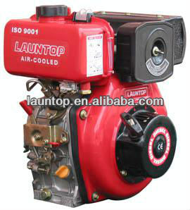 6HP used small diesel engine test equipment LA178F,air-cooled, single-cylinder