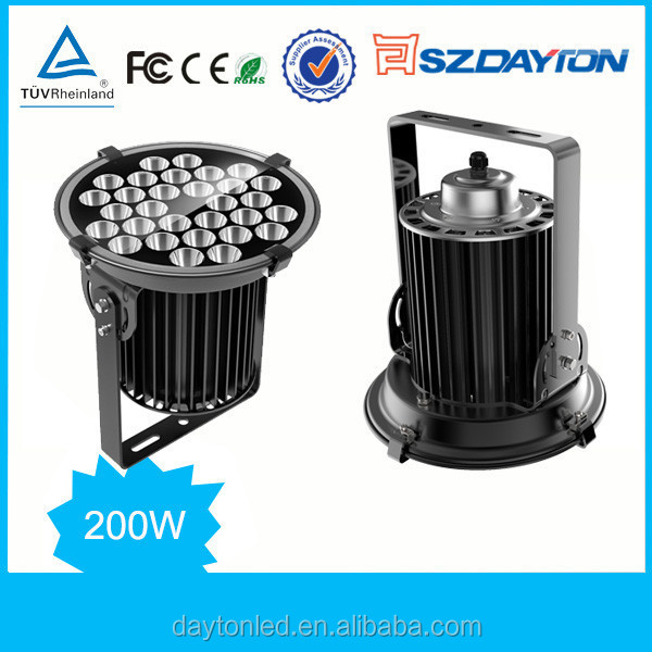 Pure white color and CE Rcertification 200w led high bay industrial led high bay lighing high bay led lighting