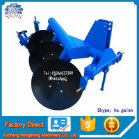 High quality mini one way disc pipe plow for sale
