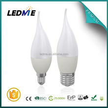 LEDME warm white C37 C37L E27 E14 AL PL candle led bulb 3w led bulb bulb lights led