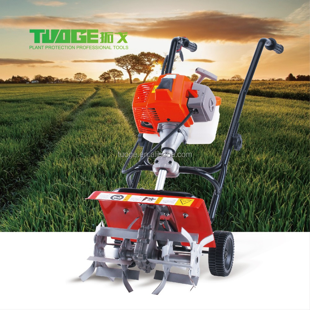 Small agriculture machinery 72CC power weeder,mini tractor price