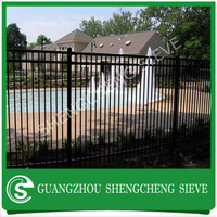 Alibaba Wholesale Wrought Iron Fence Designs