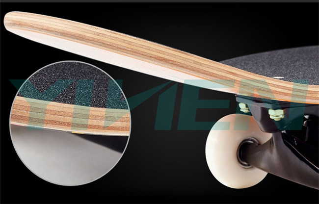 wood maple longboard Chinese maple longboards for sell