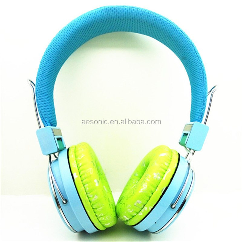 Top Sale Cheap Blue Color Headphone Bluetooth 2017 For Chiristmas