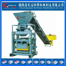Hydraulic small scale industries building hollow block making machine