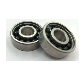 Hybrid ceramic ball bearings of full complement balls 7002 angular contact ball bearings