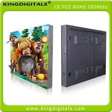 P16 outdoor full color led screen iron cabinet waterproof class reach IP65