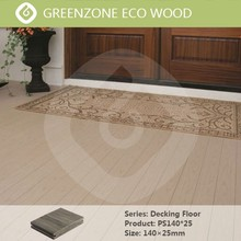outdoor and indoor comfortable wpc teak floor good price cheap pvc decking