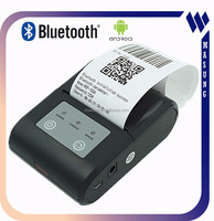 color style bluetooth mini thermal portable printer with android