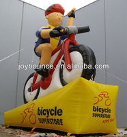 best selling advertising inflatable bicycle model