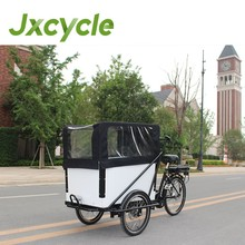 Factory hot sale cargo tricycle with cabin