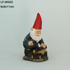 Resin arts and craft Mini Gnomes Figurine