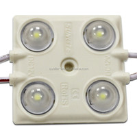 4LED 1.44w high power led module, square PVC strong weatherability good price 2835 led module 12V