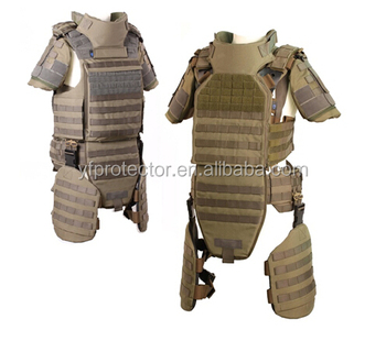 ISO and USA standard bulletproof vest Professional Manufacture Body Armor Military kevlar bullet proof vest