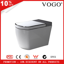 Good quality bathroom ceramic auto flush warm seat with air dryer intelligent smart toilets