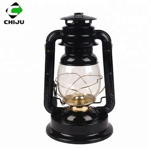 Good quality kerosene lantern with metal handle