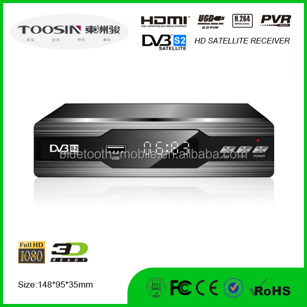 Best hot sale Competitive HD Digital support wifi internet 3G dongle IPTV Satellite Receiver DVB-S2
