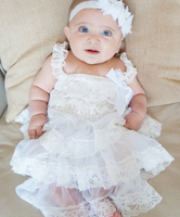 Z89194A baby dress apparel clothes newborn party dresses baby girls dresses christening gown