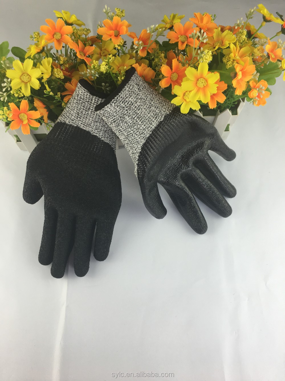 working safety glass handling cut resistant gloves level 5