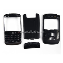 Wholesale for Blackberry 8900 full cover housing with glass lens and keypad black