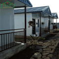 Steel frame modular prefabricated house, prefab homes
