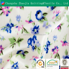Zhaojia Manufacture Custom digital printed 100% polyester Upholstery home textile fabric for blanket