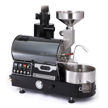 1kg 2kg 3kg 6kg Automatic Shop Coffee bean Roaster Roasting Machine Black