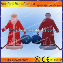 Hot-selling christmas decoration christmas decoration outdoor santa in sleigh