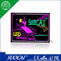 high quality 80x60cm board led advertising led marquee signs
