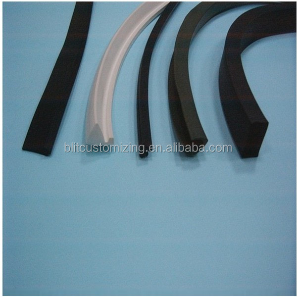 Rubber Sealing Strip/Extrution Profile/Extruded epdm hard foam rubber seal