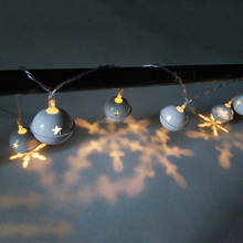 Jingle Bells LED Light String Christmas Fairy Lights Battery Operated