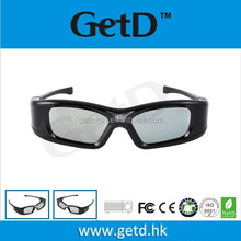 High Performance Micro USB Chargeable Battery3D Active Glasses/eyewear --GL410