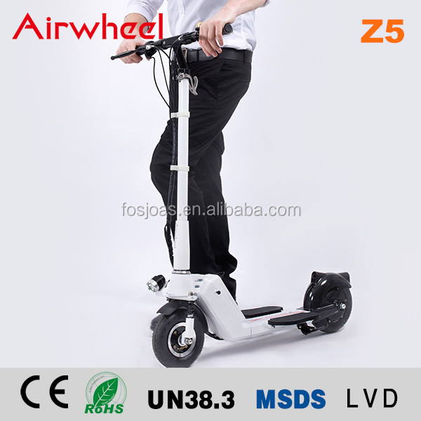 Kick Scooter Aluminum Foot Scooter Rubber Wheels Z5 big wheel off road kick scooter for adults electric bike APP