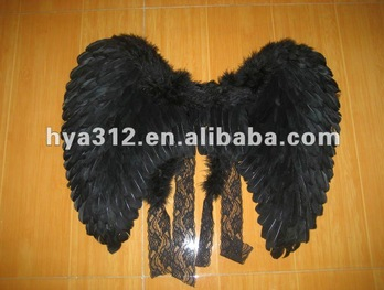 2014 Black Feather Wing