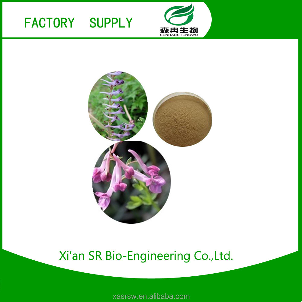 100% Natural Factory Supply Corydalis Yanhusuo W.T.Wang/Tetrahydropalmatine P.E.