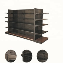 Double-side Supermarket Retail Shelf Display Stand