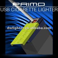 2012 new MINI USB rechargeable cigarette pouch/pack Lighter with memory function