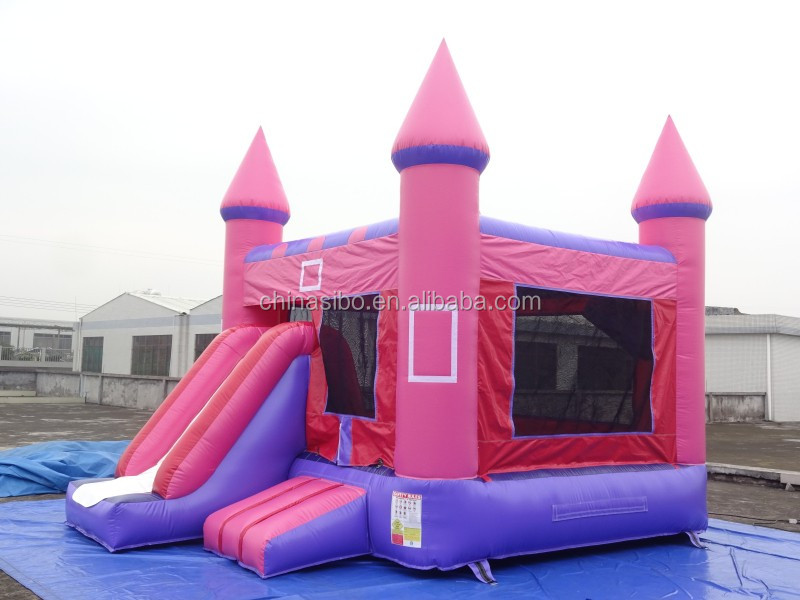 GMIF cheap inflatable bouncer buying princess indoor bounce houses for 2016 sale