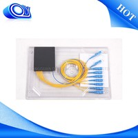 wholesale from china 1x8 single mode fc fiber optic splitter and couple , plc splitter modules , fiber optics splitter
