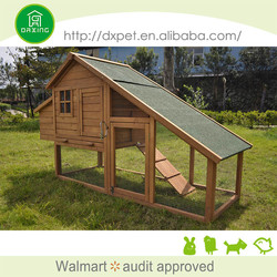 DXH019 fir wood luxury chicken hen houses